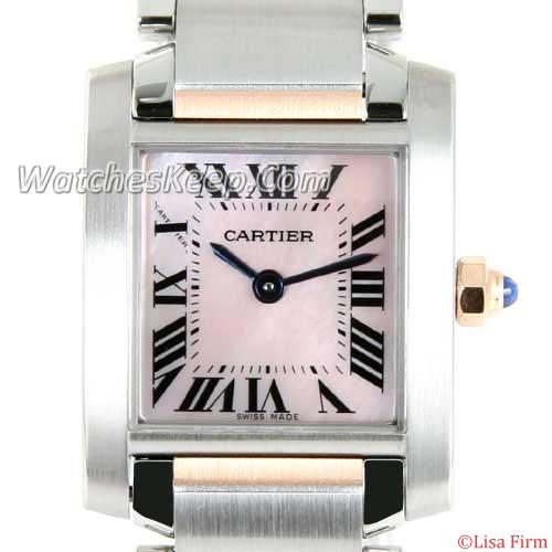 Cartier Tank W51027 Mens Watch