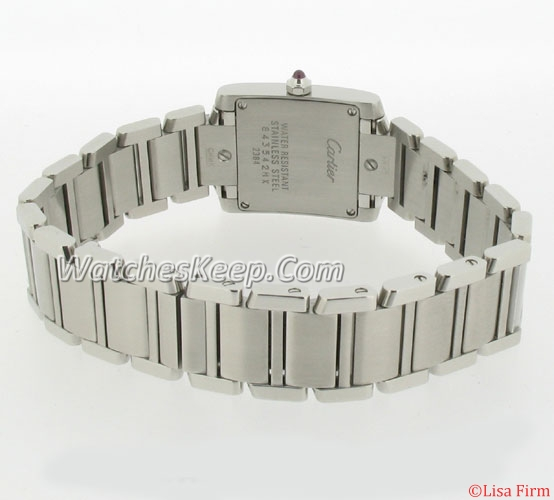 Cartier Tank W51028Q3 Mens Watch