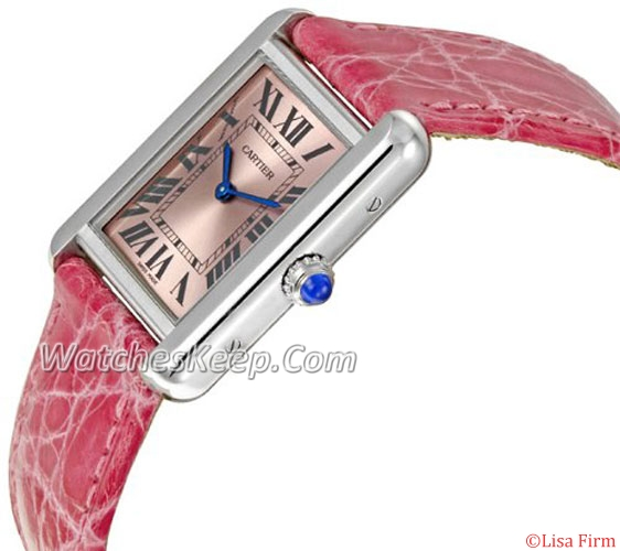 Cartier Tank W5200000 Mens Watch