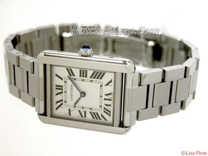Cartier Tank W5200013 Mens Watch