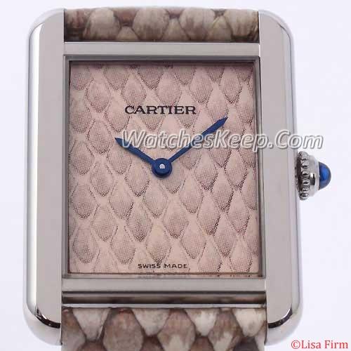 Cartier Tank W5200021 Mens Watch