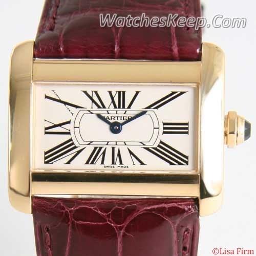 Cartier Tank W6300356 Mens Watch