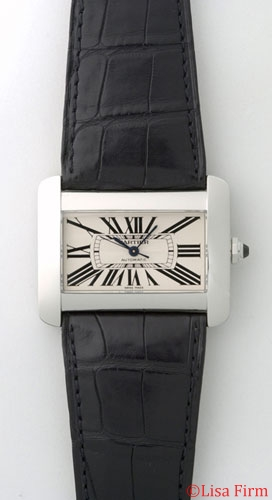 Cartier Tank W6300755 Mens Watch