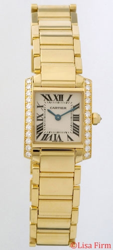 Cartier Tank WE1001R8 Mens Watch