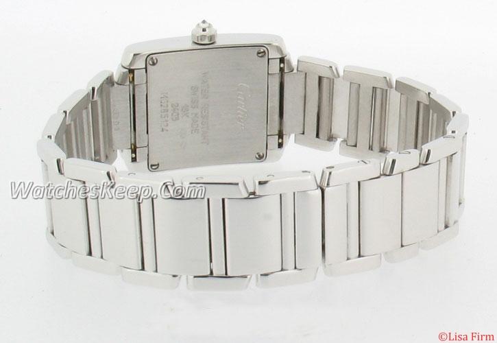 Cartier Tank WE1002S3 Mens Watch