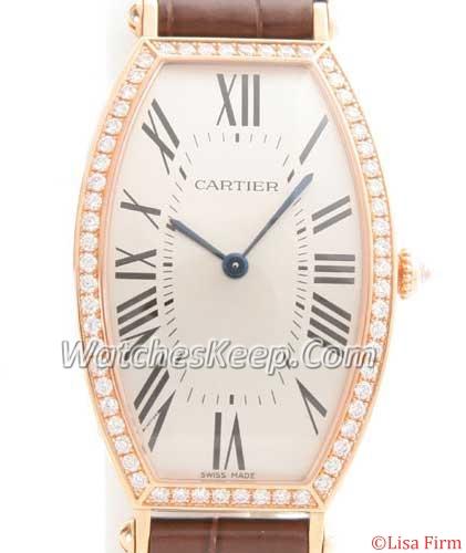 Cartier Tonneau WE400451 Mens Watch