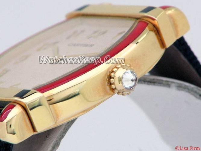 Cartier Tortue WA501531 Mens Watch