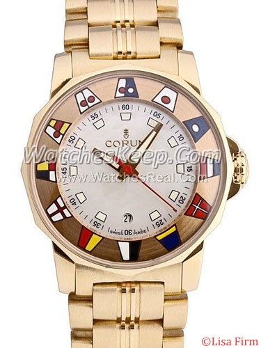 Corum Admirals Cup 145-430-56-V780 PN44 Mens Watch