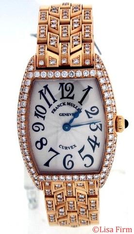 Franck Muller Cintree Curvex 1752 QZ D Silver Dial Watch
