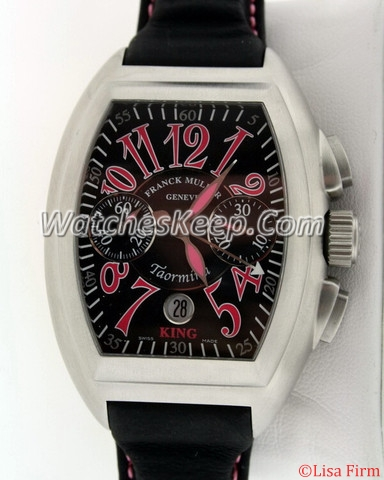 Franck Muller Conquistador 8005 CC King Black Dial Watch