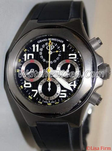 Girard Perregaux Laureato EVO3 80180-11-614-FK6A Mens Watch