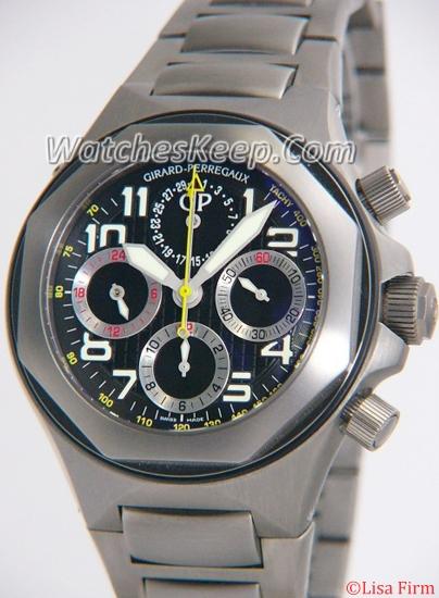 Girard Perregaux Laureato EVO3 80180-21-611-21A Mens Watch