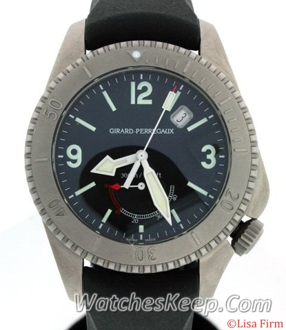 Girard Perregaux Sea Hawk 49941-21-631-HDBA Black Dial Watch