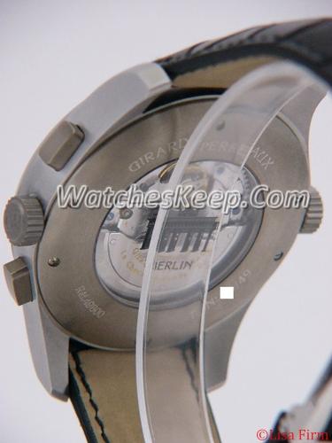 Girard Perregaux Worldwide Time Control 49800-22-654-BA6A Mens Watch