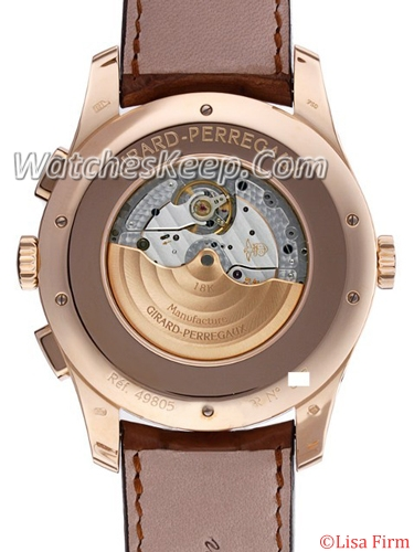 Girard Perregaux Worldwide Time Control 49805-52-151-BACA Mens Watch
