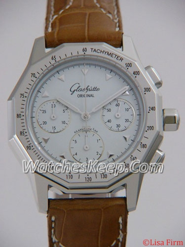 Glashutte PanoRetroGraph 10-66-39-41-04 Mens Watch