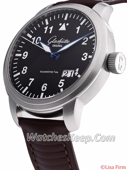 Glashutte Senator Navigator 100-03-07-04-04 Mens Watch