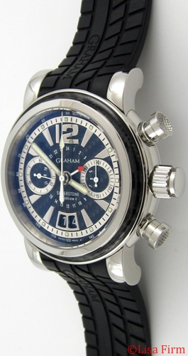 Graham Grand Silverstone Woodcote II 2GSIUS.B06A.K07B Mens Watch