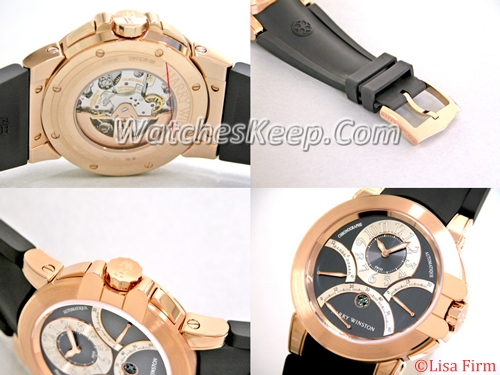 Harry Winston Ocean Collection 400.MCRA44RC.A1 Mens Watch