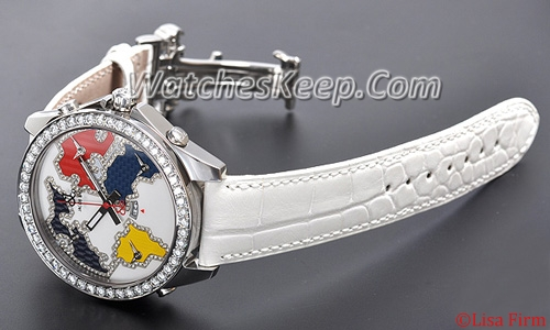 Jacob & Co. GMT World Time Automatic JC-126D Multi Color Dial Watch
