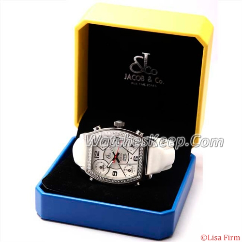 Jacob & Co. H24 Five Time Zone Automatic J0305600005 Mens Watch