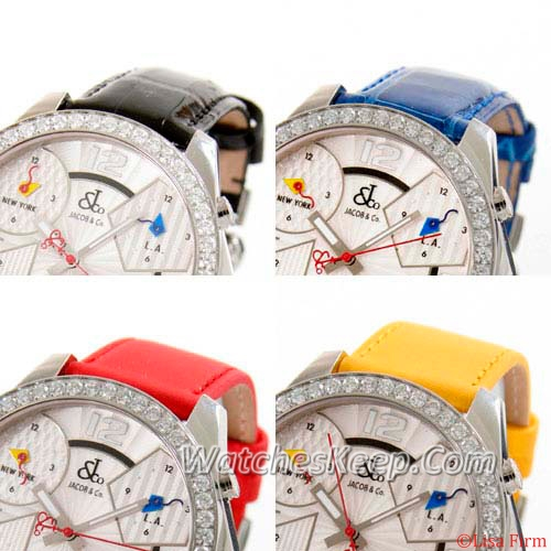 Jacob & Co. H24 Five Time Zone Automatic JC-3D Mens Watch
