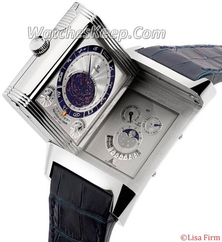 Jaeger LeCoultre Reverso Complication JLC GC Triptyque Mens Watch
