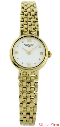 Longines Prestige Gold L6.107.6.15.6 Ladies Watch