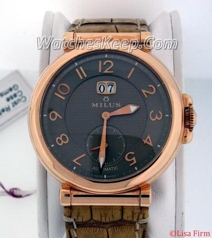 Milus Zetios ZET 401 Automatic Watch