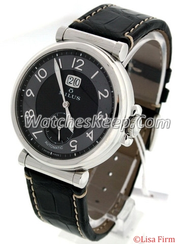 Milus Zetios ZET 401 Black Dial Watch