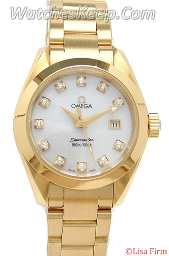 Omega Seamaster Aqua Terra 2177.75.00 Ladies Watch