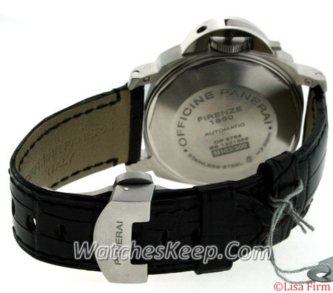 Panerai Luminor GMT PAM00244 Black Dial Watch