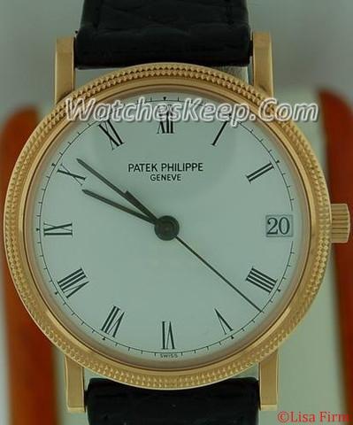 Patek Philippe Calatrava 3802R Mens Watch