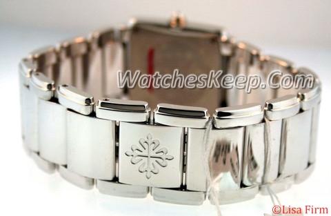 Patek Philippe Twenty-4 4910/20G Silver Band Watch