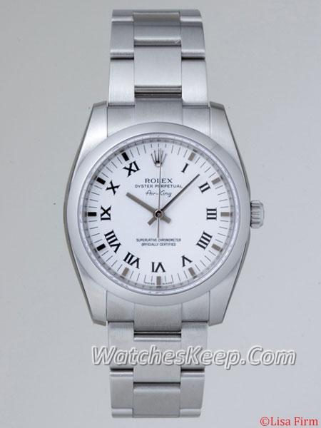 Rolex Airking 114200WRO Mens Watch