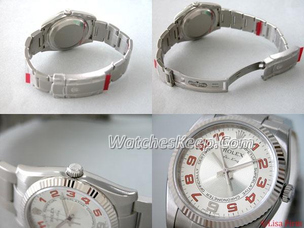 Rolex Airking 114234 Silver Dial Watch