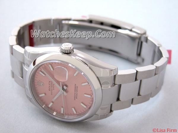 Rolex Date Mens 115200PSO Mens Watch