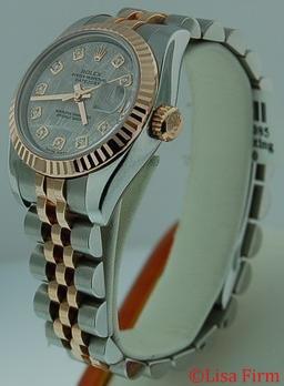 Rolex Datejust Ladies 179171 Stainless Steel Case Watch