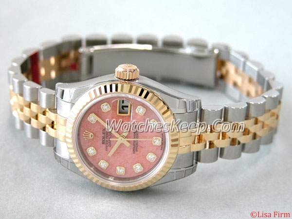 Rolex Datejust Ladies 179173PDJ Ladies Watch