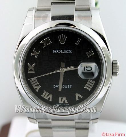 Rolex Datejust Men's 116200 Stainless Steel Watch Watch
