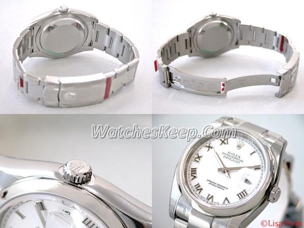 Rolex Datejust Men's 116200SRO Mens Watch