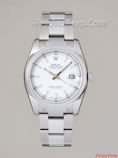 Rolex Datejust Men's 116200WSO Mens Watch