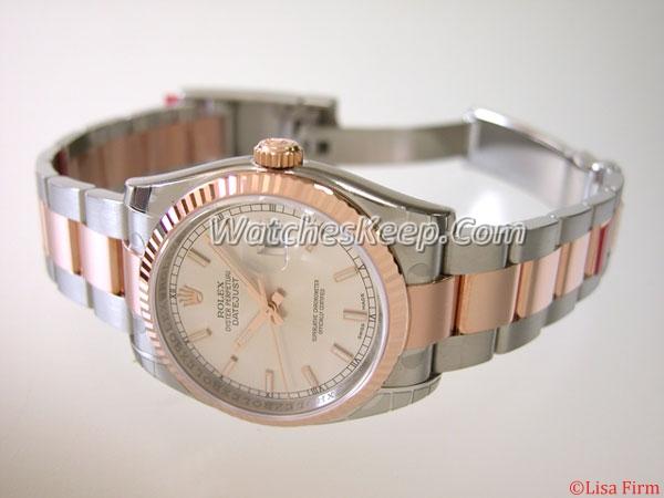 Rolex Datejust Men's 116231 Round Watch Watch