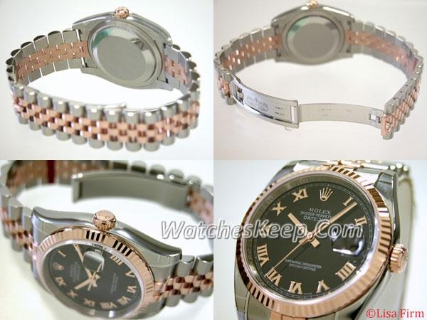 Rolex Datejust Men's 116231 Stainless Steel Case Watch