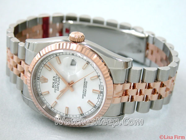 Rolex Datejust Men's 116231WSJ Mens Watch