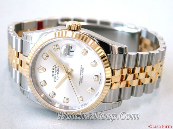 Rolex Datejust Men's 116233SDJ Mens Watch