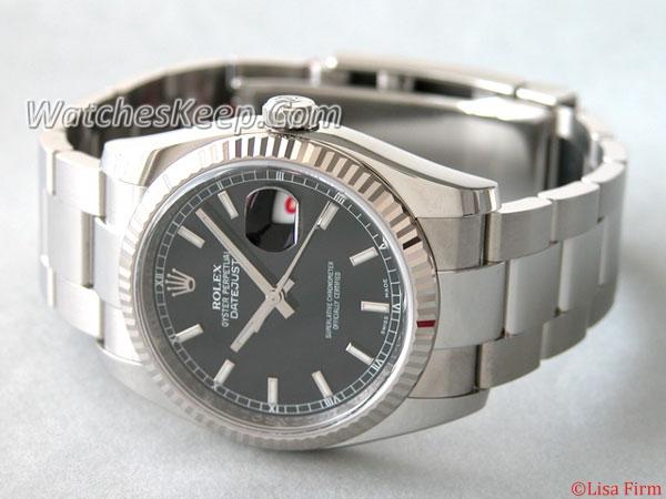 Rolex Datejust Men's 116234 Round Shape Watch