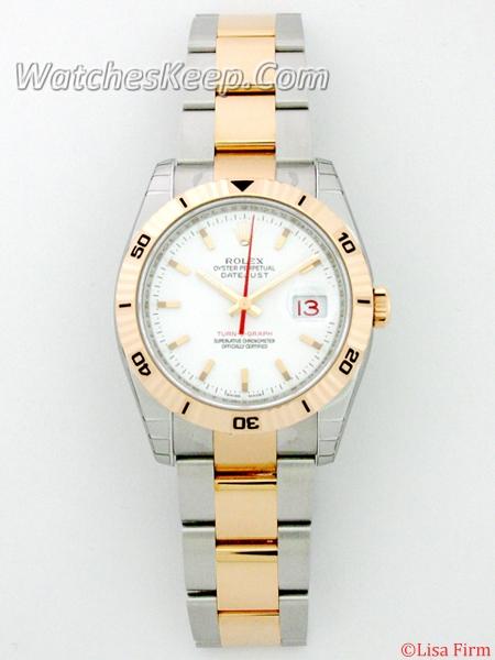 Rolex Datejust Men's 116261WSO Mens Watch