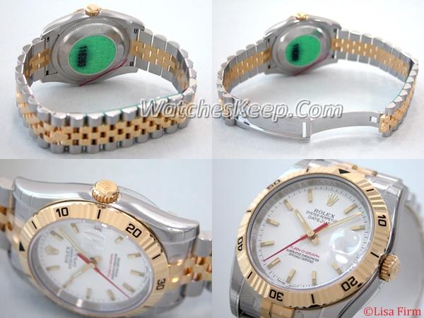 Rolex Datejust Men's 116263WSJ Mens Watch