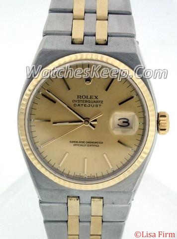 Rolex Datejust Men's 17013 Quartz Watch